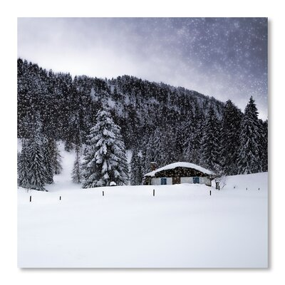 Americanflat Bavarian Winter's Tale VIII' by Melanie Viola Photographic Print