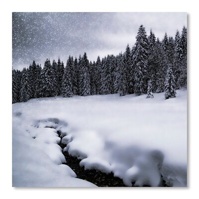Americanflat Bavarian Winter's Tale VII' by Melanie Viola Photographic Print