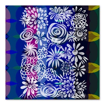 Americanflat Hawaiian Floral' by Marian Nixon Graphic Art