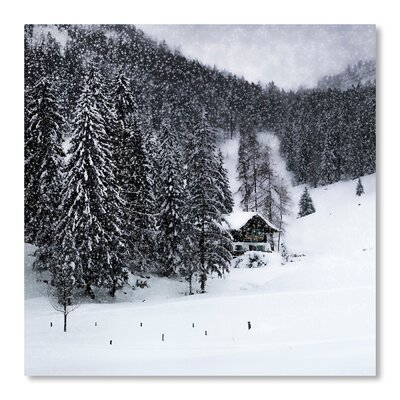Americanflat 'Bavarian Winter's Tale IX' by Melanie Viola Photographic Print