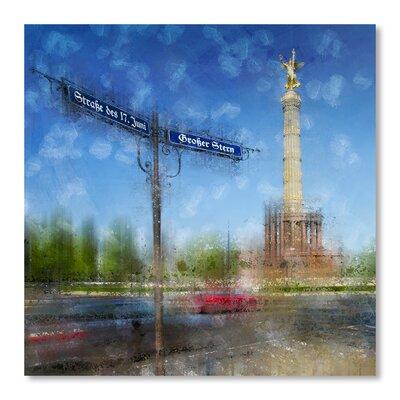 Americanflat 'City Art Berlin Victory Column' by Melanie Viola Graphic Art