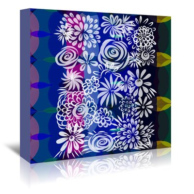 Americanflat 'Hawaiian Floral' by Marian Nixon Graphic Art Wrapped on Canvas