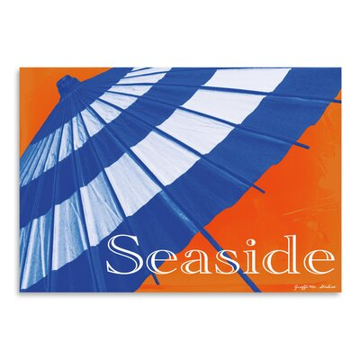 Americanflat Seaside Parasol' by Graffi Tee Studios Graphic Art