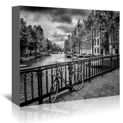 Americanflat 'Amsterdam Gentlemen's Canal' by Melanie Viola Photographic Print Wrapped on Canvas