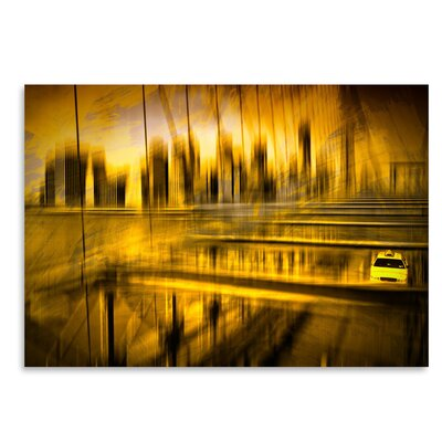Americanflat 'City Shapes Nyc Brooklyn Bridge' by Melanie Viola Graphic Art