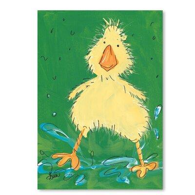 Americanflat 'Duckling II' by Terri Einer Art Print