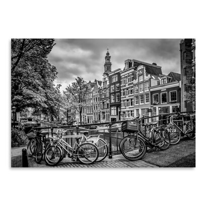 Americanflat 'Amsterdam Flower Canal' by Melanie Viola Photographic Print