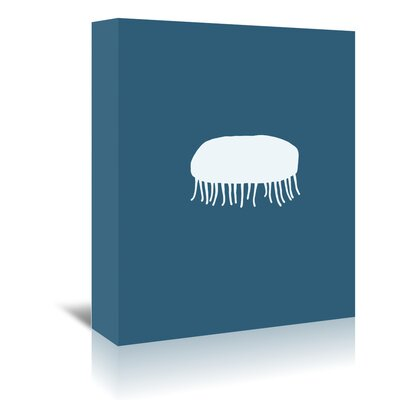Americanflat 'Jellyfish' by Jorey Hurley Art Print Wrapped on Canvas