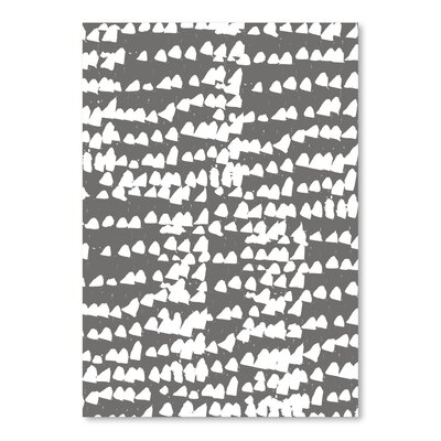 Americanflat 'Gnarly Stumps Chips Grey' by Chris Purcell Graphic Art