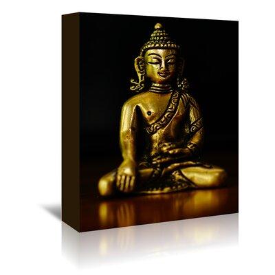 Americanflat Wonderful Dream Asia Buddha Yoga Symbol Photographic Print Wrapped on Canvas