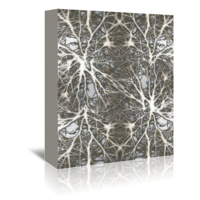 Americanflat Wonderful Dream Neurons System Cell Medical Graphic Art Wrapped on Canvas