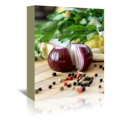 Americanflat Wonderful Dream Kitchen Onion Food Style Photographic Print Wrapped on Canvas