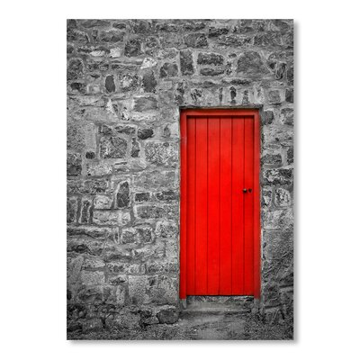 Americanflat Door 2 Graphic Art Wrapped on Canvas