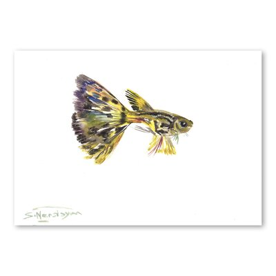 Americanflat 'Guppy' by Suren Nersisyan Graphic Art on Wrapped Canvas