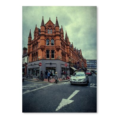 Americanflat Dublin Street Photographic Print on Wrapped Canvas