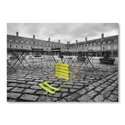 Americanflat Green Stand Graphic Art on Wrapped Canvas