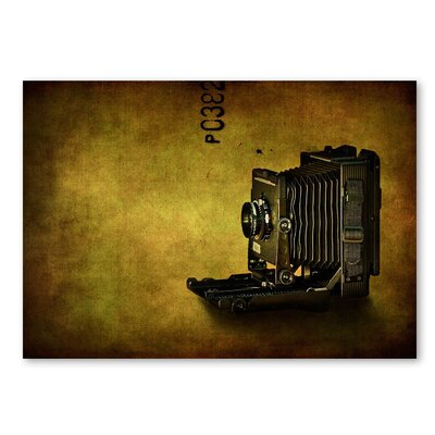 Americanflat 'Camera' by Lina Kremsdorf Graphic Art on Wrapped Canvas