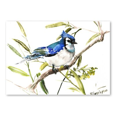 Americanflat 'Jay II' by Suren Nersisyan Art Print Wrapped on Canvas