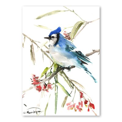 Americanflat 'Jay VI' by Suren Nersisyan Painting Print on Wrapped Canvas