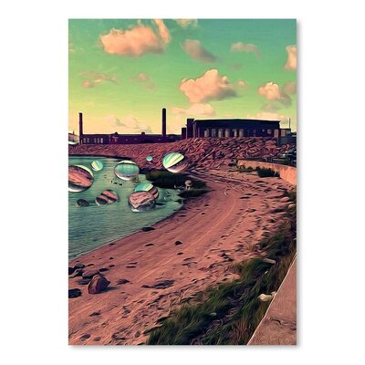 Americanflat 'Kylbyrn' by Th'syy Graphic Art on Wrapped Canvas