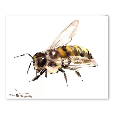 Americanflat 'Bee VI' by Suren Nersisyan Painting Print on Wrapped Canvas
