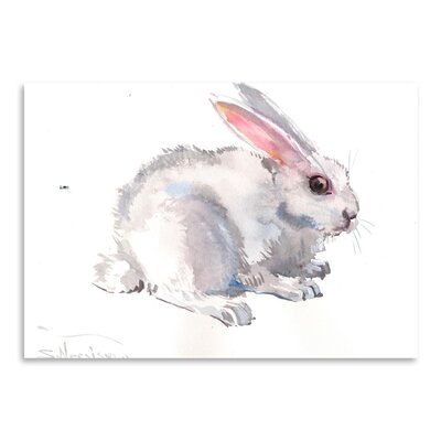 Americanflat 'Bunny' by Suren Nersisyan Painting Print on Wrapped Canvas
