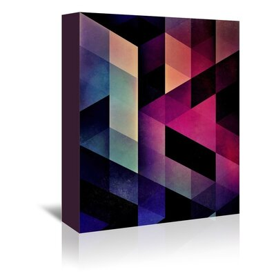 Americanflat Derria Graphic Art on Wrapped Canvas