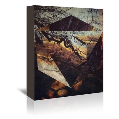 Americanflat Woodlands Wall Graphic Art on Wrapped Canvas