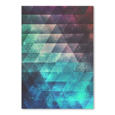 Americanflat Brynk Drynk Graphic Art on Wrapped Canvas