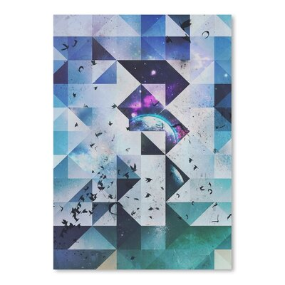 Americanflat Entrypyc Graphic Art Wrapped on Canvas