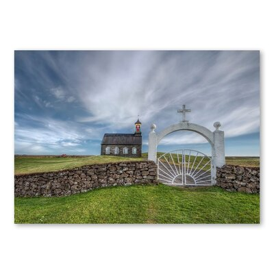 Americanflat 'Farmhouse II' by Lina Kremsdorf Photographic Print on Wrapped Canvas