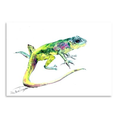 Americanflat 'Lizard 3' by Suren Nersisyan Art Print Wrapped on Canvas