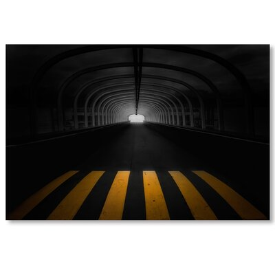 Americanflat 'Tunnel' by Lina Kremsdorf Photographic Print on Wrapped Canvas