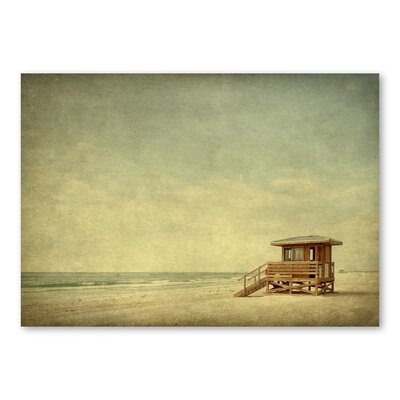 Americanflat 'Beach' by Lina Kremsdorf Photographic Print on Wrapped Canvas