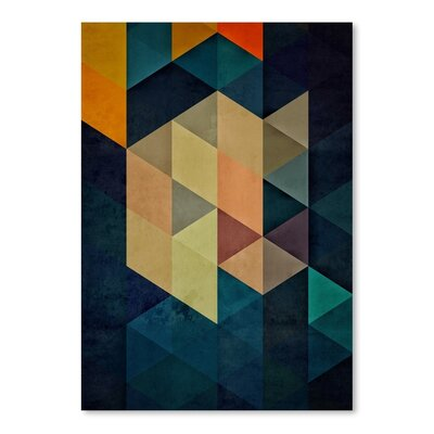 Americanflat Synthys Graphic Art on Wrapped Canvas