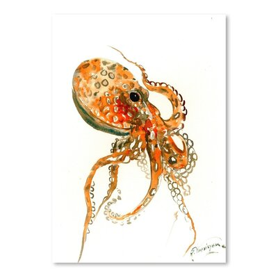 Americanflat 'Octopus' by Suren Nersisyan Art Print Wrapped on Canvas
