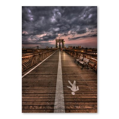 Americanflat 'Path' by Lina Kremsdorf Photographic Print on Wrapped Canvas