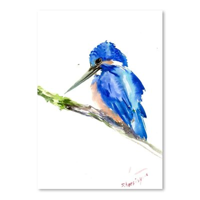 Americanflat 'Kingfisher' by Suren Nersisyan Art Print Wrapped on Canvas