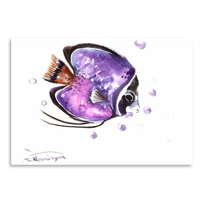 Americanflat 'Angelfish 4' by Suren Nersisyan Painting Print on Wrapped Canvas
