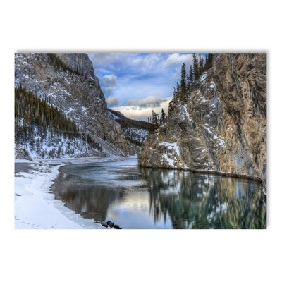 Americanflat Lake Hills Photographic Print Wrapped on Canvas