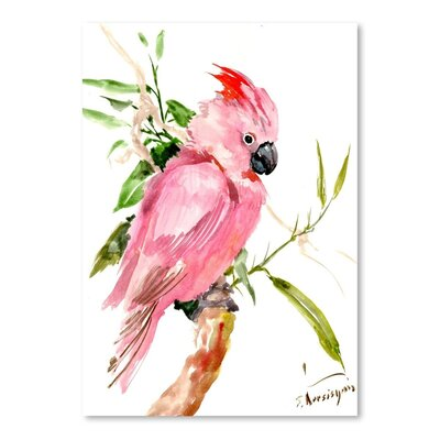 Americanflat 'Cockatoo' by Suren Nersisyan Art Print Wrapped on Canvas