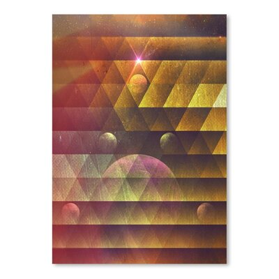 Americanflat Pyncyl Myx Graphic Art Wrapped on Canvas