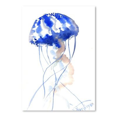 Americanflat 'Jellyfish 2' by Suren Nersisyan Art Print Wrapped on Canvas