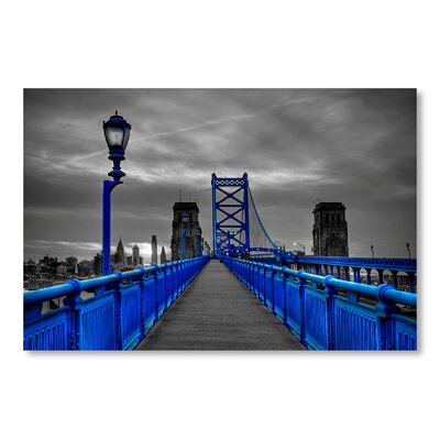 Americanflat 'Bridge' by Lina Kremsdorf Graphic Art Wrapped on Canvas