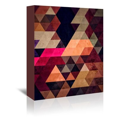 Americanflat Clossie Wall Graphic Art on Wrapped Canvas