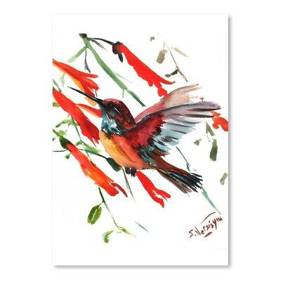Americanflat 'Hummingbird 9' by Suren Nersisyan Art Print Wrapped on Canvas