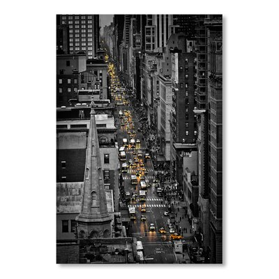 Americanflat Seria Wall Graphic Art on Wrapped Canvas