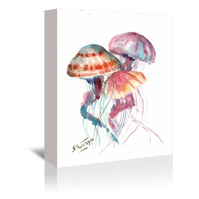 Americanflat 'Jellyfish' by Suren Nersisyan Painting Print on Wrapped Canvas
