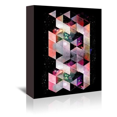 Americanflat Galactic Wall Graphic Art Wrapped on Canvas
