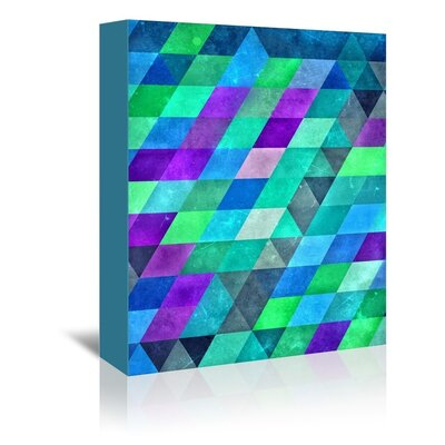 Americanflat Spectra Wall Graphic Art on Wrapped Canvas